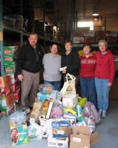 2012 RHOTHL Food Bank Donation