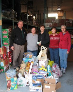 2012 RHOTHL Food Bank Donation